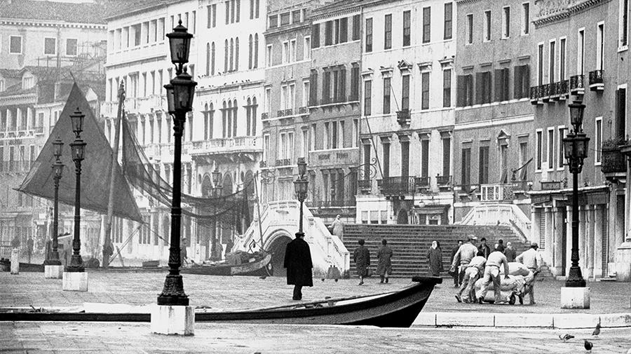 Venice. Riva degli Schiavoni, 1962