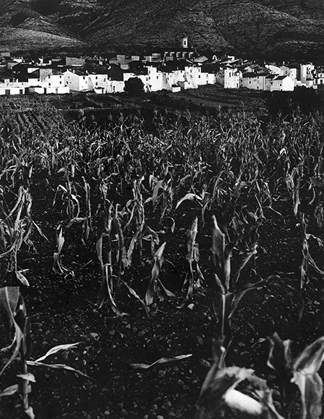 Village in the Sierra Segura, 1956