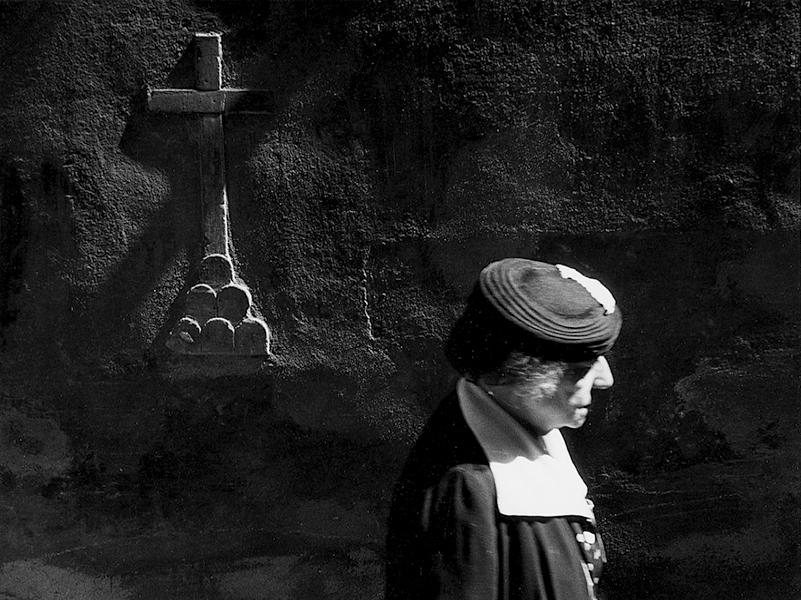 Florence. Vicolo de' Donati, 1955