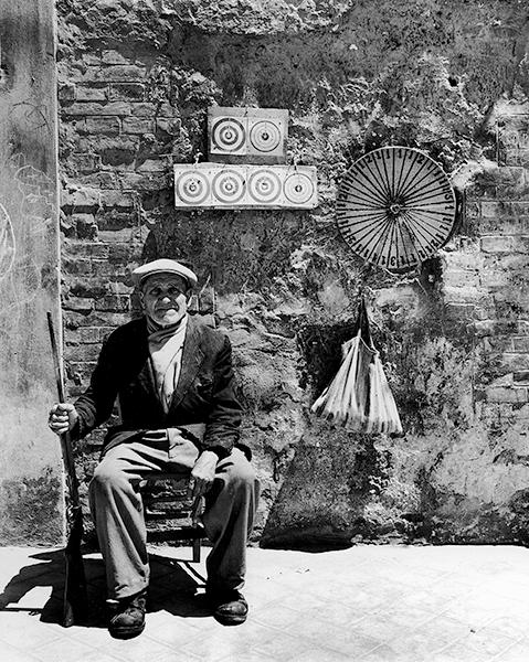 The Target Man, 1955