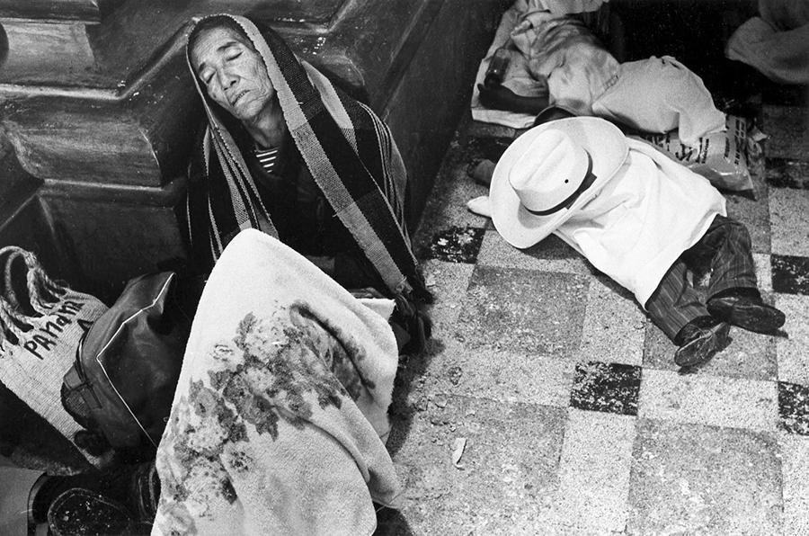 Guatemala. St Tomas's festival in Chichicastenango, 1972