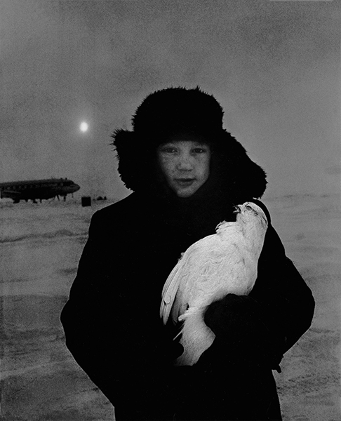 Siberia. 65° degrees below zero, 1964