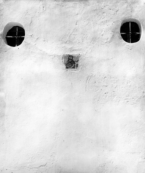 Piergiorgio Branzi, Ischia. Muro bianco, 1953