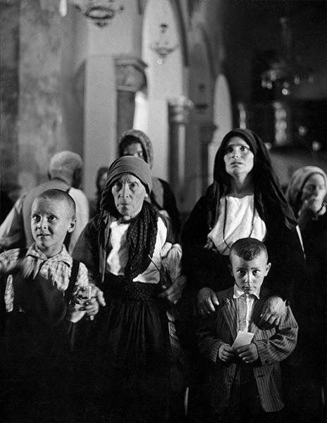 Franco Pinna, San Fele. Santuario della Madonna di Pierno, 1956