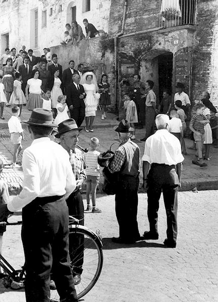 Wedding in Penne (Pescara), 1960
