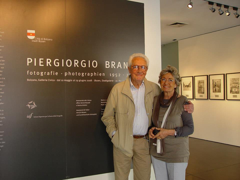 Piergiorgio and Gloria Branzi, Bolzano 2008