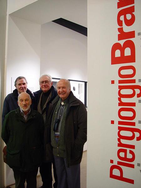 Gianni Berengo Gardin, Piergiorgio Branzi, and Mario De Biasi, Milan 2006