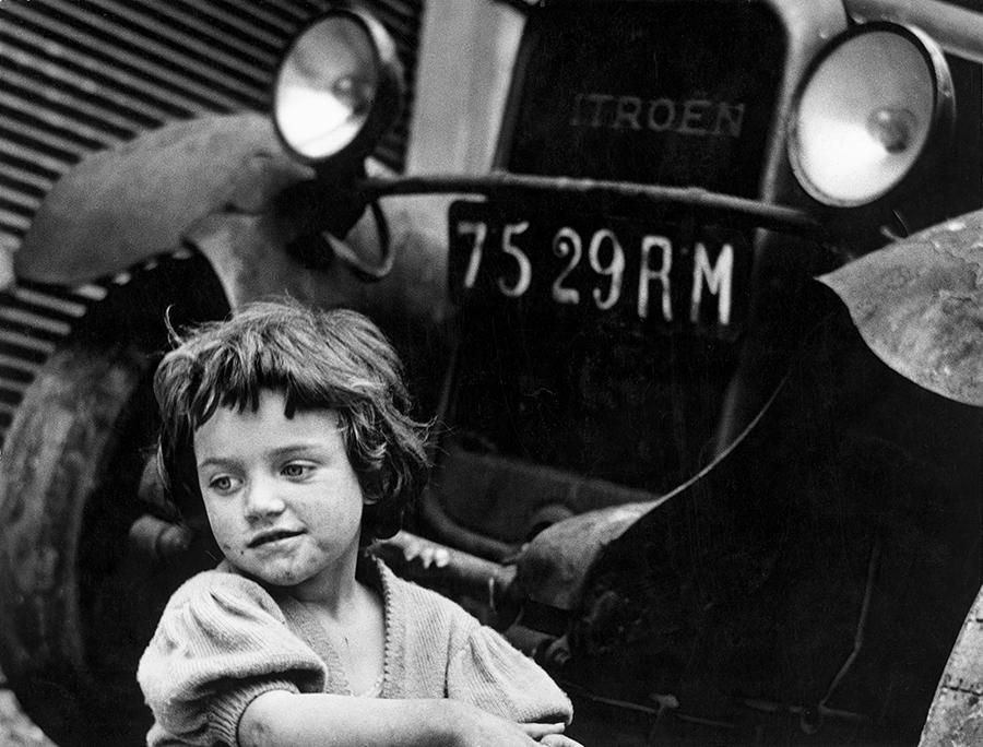 Gianni Berengo Gardin, Yvette, 1953