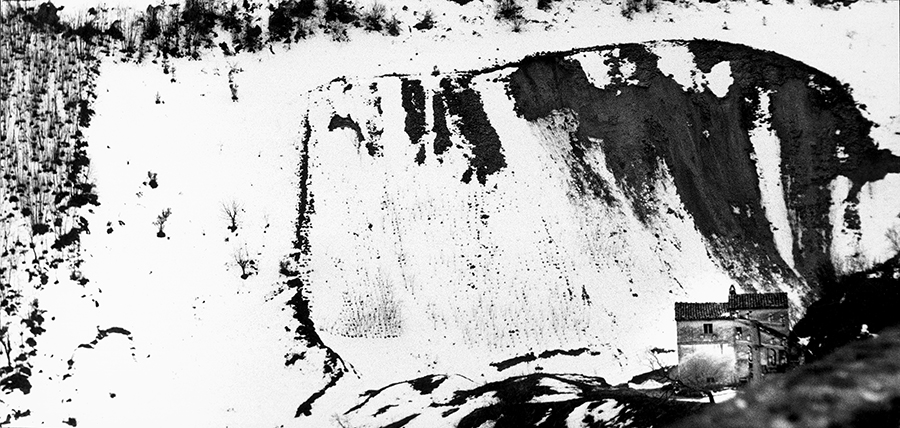 Mario Giacomelli, Landscape, 1960