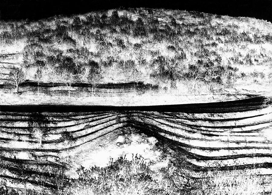 Mario Giacomelli, Landscape (Lorgi), 1965
