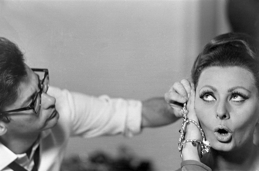 Richard Avedon and Sophia Loren, 1966
